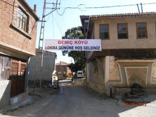 GEMİÇ KÖYÜNE HOŞ GELDİNİZ.